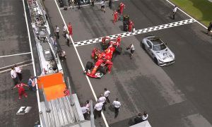 It only gets worse for Ferrari as Raikkonen fails on the grid!