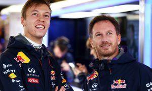 Horner explains Red Bull decision to release Kvyat