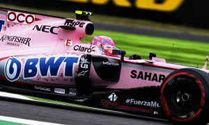 Ocon feels 'big step forward' taken by Force India
