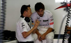 Alonso not appreciated by all at Honda - Hasegawa