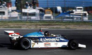 When McLaren rolled out its blue Löwenbräu livery