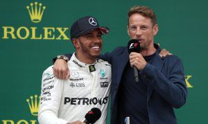 Button on 'weird' Hamilton: 'We were never really friends'