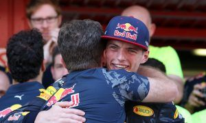 Max Verstappen and Christian Horner, Red Bull Racing