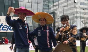 ¡Olé! Checo y Force India!