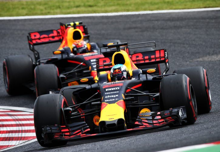 Ricciardo happy to inherit third with race set-up