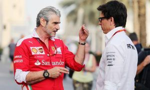 Wolff laughs off Ecclestone collusion claims