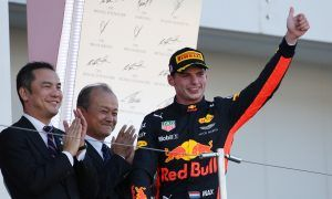 Verstappen comes up short but happy with runner-up spot