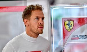 Vettel risks grid penalty after national anthem breach!