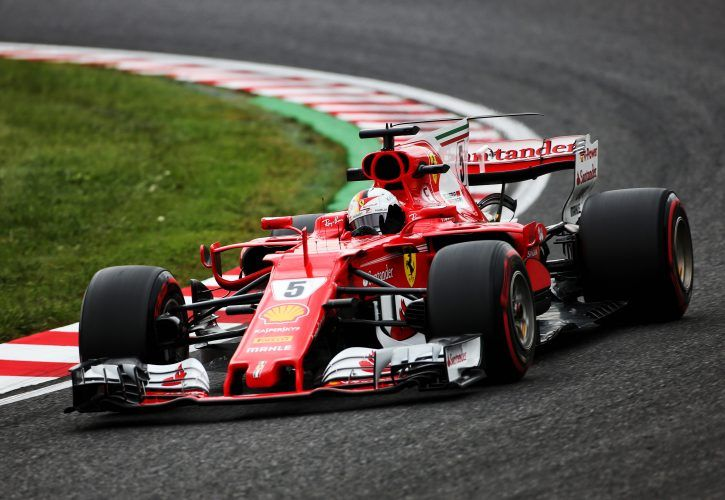 Japanese F1 Grand Prix Practice Report Results