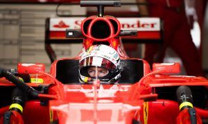 Ferrari prepares new chassis for Vettel after FP2 problems
