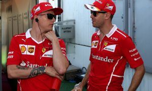Vettel hails uncomplicated Raikkonen as 'best team mate ever'