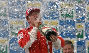 A day which belonged to Kimi