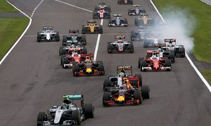 F1 Japanese GP Race Hamilton
