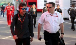 Brown expecting 'positive conclusion' soon to Alonso contract talks