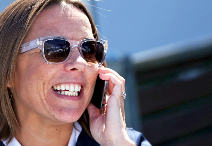 Claire Williams, Williams F1, Deputy team principal