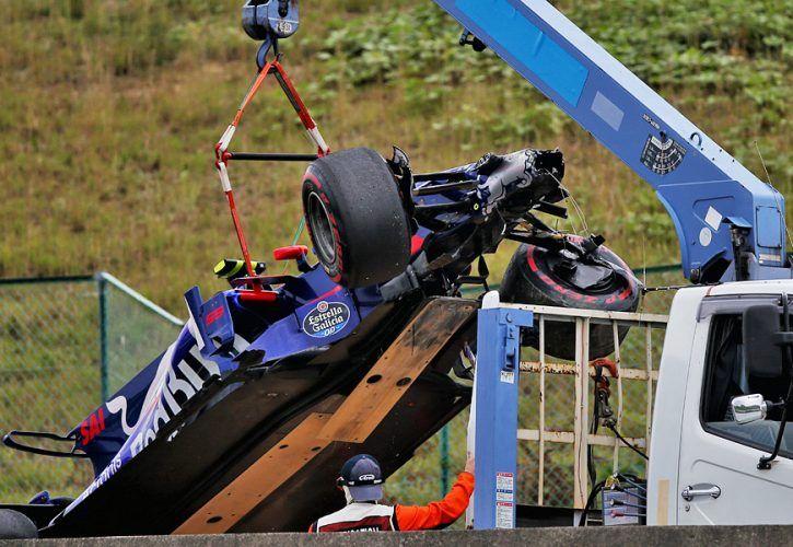 Carlos Sainz, Toro Rosso, Japanese Grand Prix