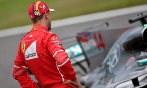 Vettel content with front row, as Raikkonen rues errors