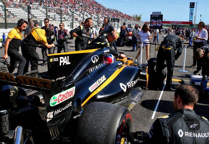 Jolyon Palmer, Renault, Japanese Grand Prix