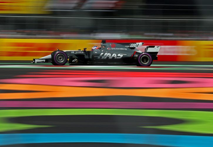 Romain Grosjean, Haas F1 Team, Mexican Grand Prix