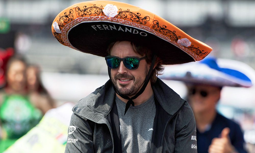Fernando Alonso, McLaren, Mexican Grand Prix