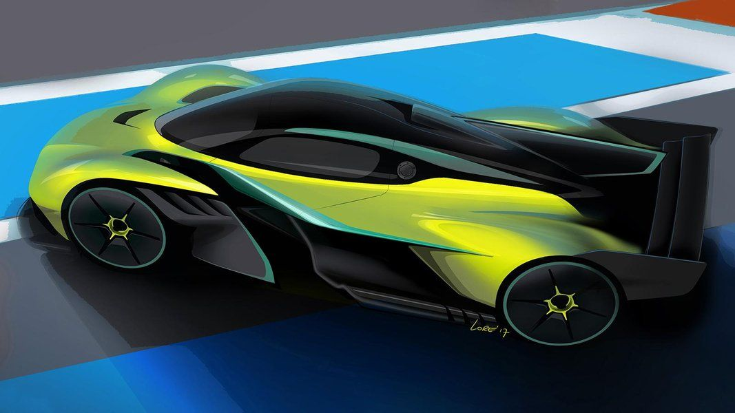 Hardcore Aston Martin Valkyrie revealed