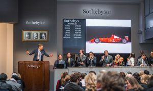 Schumacher's Ferrari shatters estimate at Sotheby's!