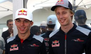 Pierre Gasly (FRA). Brendon Hartley (NZ) - Scuderia Toro Rosso