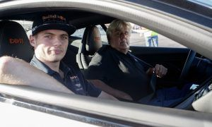 Max lets the funny man do the driving