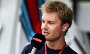 Hamilton not driving better this year - Rosberg