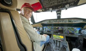 The man who set the norm for flying private in F1