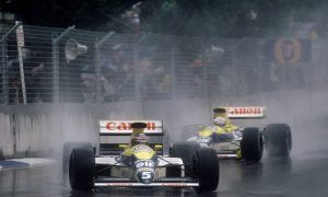 Boutsen braves the elements Down Under