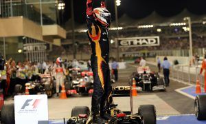 Iceman and Lotus return to victory lane in Abu Dhabi