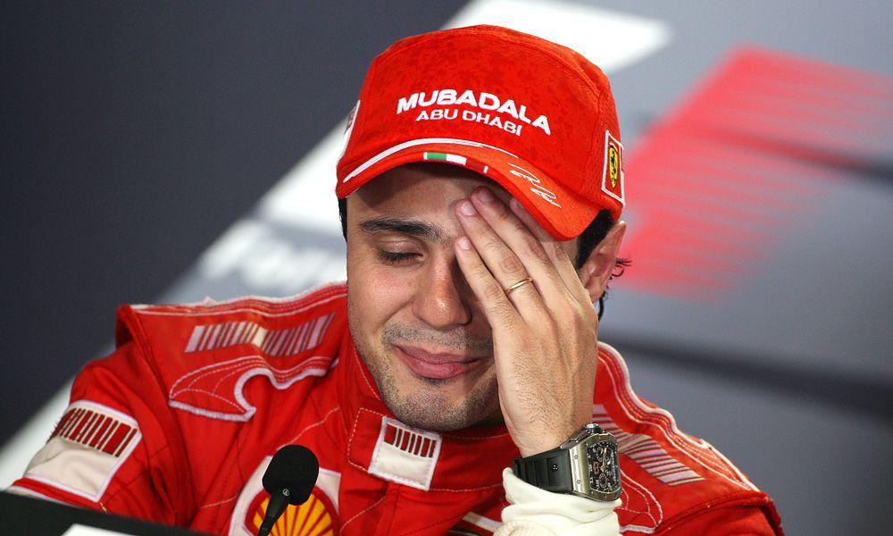 Felipe Massa, Ferrari, 2008 Brazilian Grand Prix
