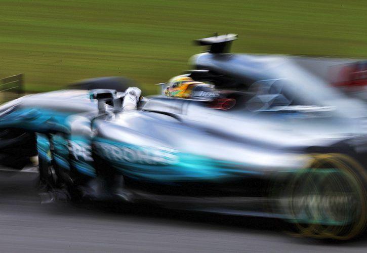 Lewis Hamilton, Mercedes, Brazilian Grand Prix