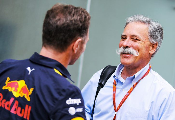 Chase Carey, Formula 1 CEO
