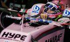 Sergio Perez, Force India, Brazilian Grand Prix