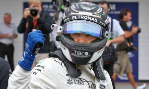 Bottas on pole in Brazil after Hamilton crashes out