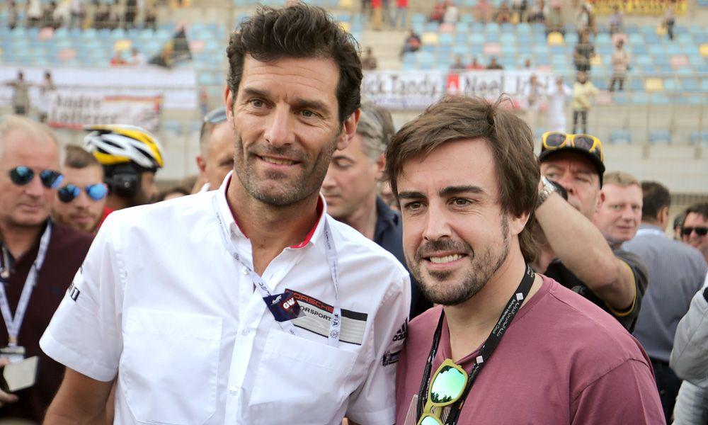 Mark Webber and Fernando Alonso, 2017 Six Hours of Bahrain