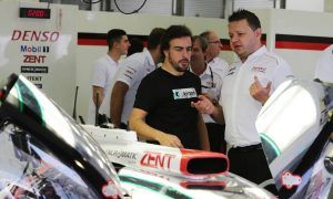 Alonso will test for Toyota on Sunday in Bahrain