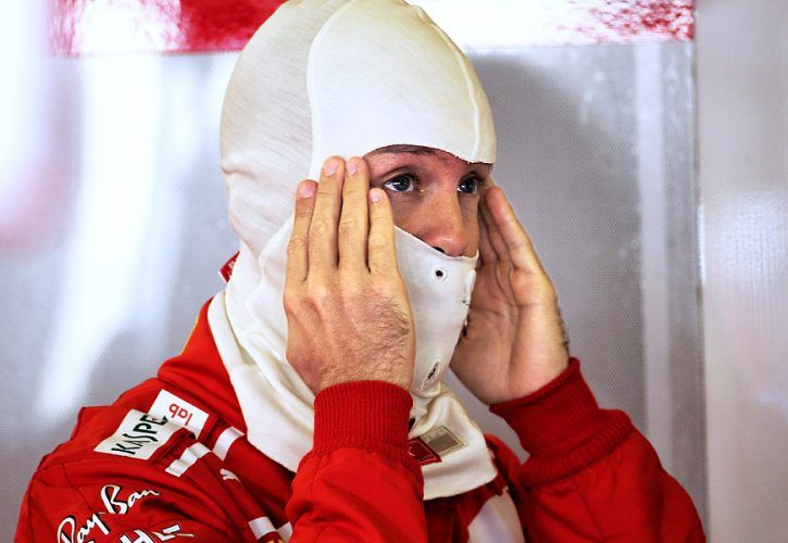 Sebastian Vettel, Ferrari, Abu Dhabi Grand Prix