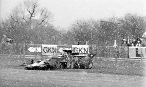 A Superswede caught out by the snow!