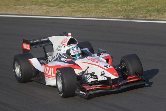 Sirotkin raced in Auto GP in 2012, and became the series youngest winner when he triumphed in Valencia. ©AutoGP