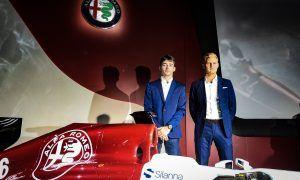 Leclerc struggled to keep his 'secret' under wraps