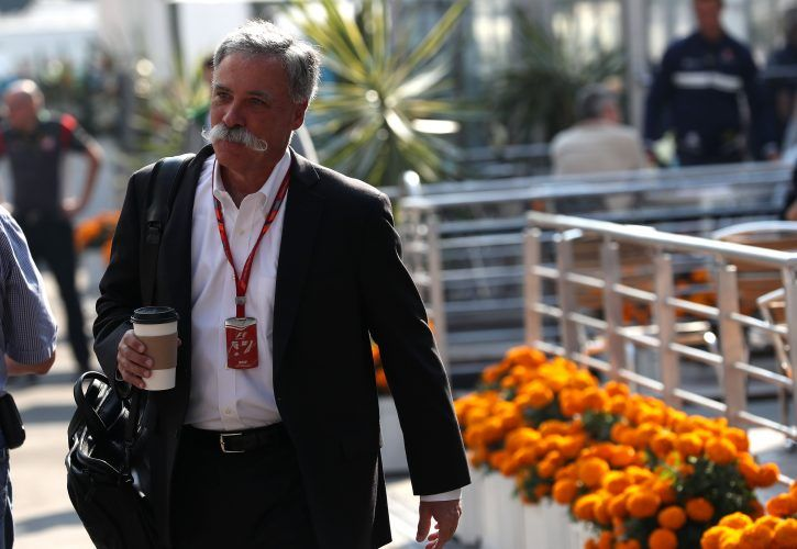Formula One will still have 'glamour' without models, says Chase Carey