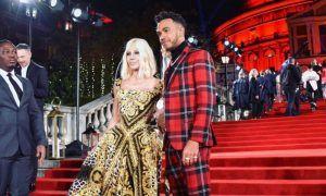 Hamilton hits the flashy Fashion Awards