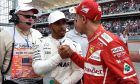 Lewis Hamilton (Mercedes), Sebastian Vettel (Ferrari), United States Grand Pric