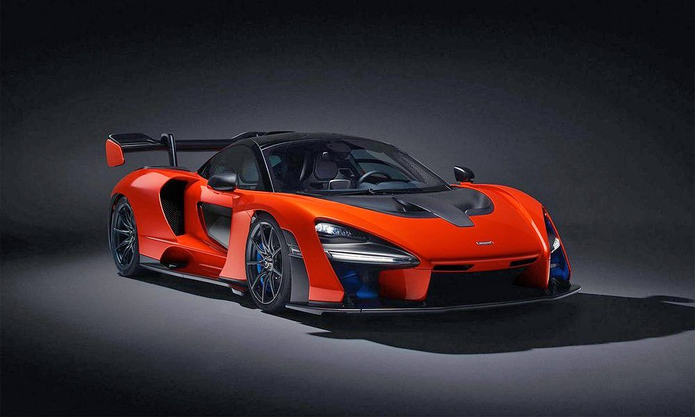 Picture Of The Day The New Mclaren Senna Is Unveiled