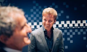 Nico Rosberg's emotional induction into F1's Hall of Fame