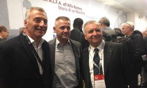 A distinguished trio of Alfa Romeo veterans