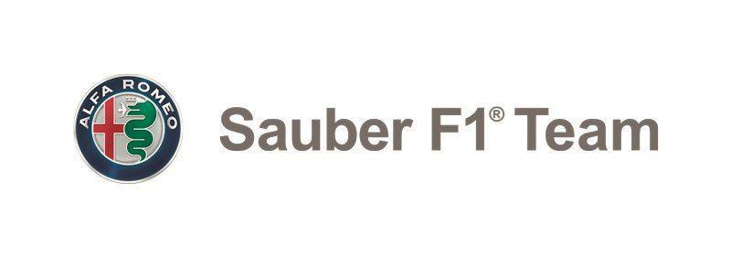 Alfa Romeo Sauber F1 team logo